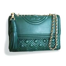 New Tory Burch Fleming Convertible Small Shoulder Bag - Norwood - $313.00