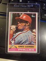 1976 Topps #610 Greg Luzinski Philadelphia Phillies Baseball Card ~ NM - $2.25