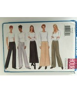 Butterick 5844 Sewing Pattern Very Easy A-Line Skirt Straight Legged Pan... - $3.00