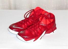 Nike Zoom Soldier 653648-606 Lebron Red Basketball Shoe Men Euro 45 US 11 - $46.00