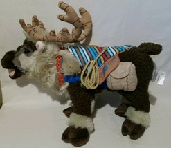 "18"" DISNEY FROZEN THE BROADWAY MUSICAL SVEN PLUSH REINDEER Theatrical Gr... - $58.15"