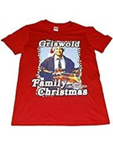 Nat'l Lampoon's Christmas Vacation Griswold Men's Med Women's Red T-Shir... - $11.75