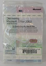 Genuine Microsoft Office 2000 Small Business Edition CD (Product Key) Sealed - $24.99