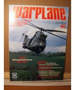 Warplane Magazine Vol 6 Issue 65 Aerospatiale Puma, The Falklands Army A... - $8.99