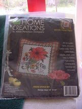 Home Creations by Alice Peterson Co, #8103 Floral Plaid cross stitch kit - $25.00