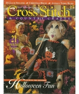 Better Homes and Gardens Cross Stitch Country Crafts Magazine October 1994 - $9.98