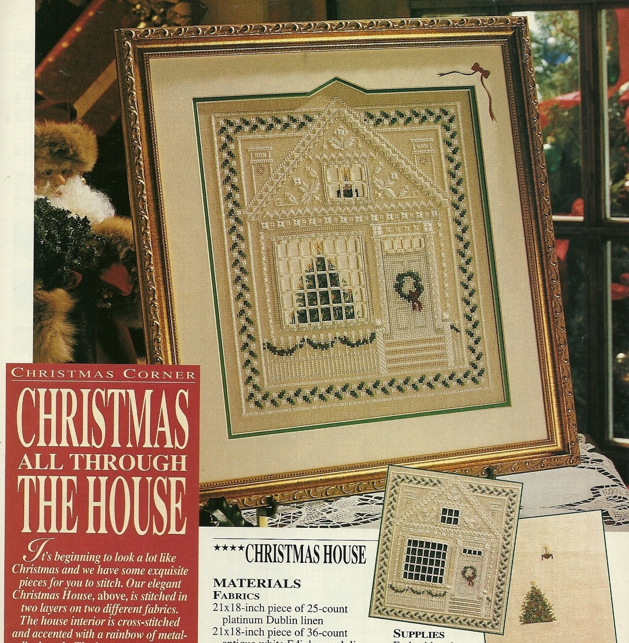 Country Homes And Gardens Magazine: Better Homes And Gardens Cross Stitch Country Crafts