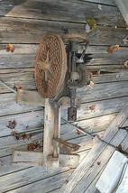 Antique CastIron Lancaster Drill Press HitMiss motor  SteamPunk - $197.79
