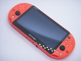 SALE USED PlayStation Vita Wi-Fi Console System PCH-2000 ORANGE PS Vita - $177.25 CAD