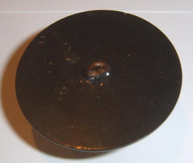 Large button Pyralin Celluloid or Bakelite BJs
