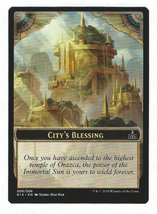 Magic the Gathering Promo Token Card City's Blessing Rivals of Ixalan - ... - $3.95