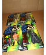 Star Wars, The Power of the Force Green Cards Collection 3, Lot Of 4  ~ - $18.69