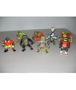 Vintage Lot Of 8 Teenage Mutant Ninja Turtles F... - $35.99