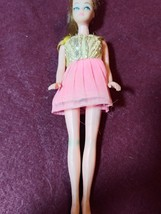 Vintage Dawn Doll with original outfit (pink and gold dress) - $12.50