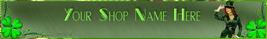 Banner St Patricks Custom Web designed professional banner S - $7.00