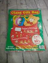 """GREENBRIER INTERNATIONAL. GIANT GIFT BAG WITH EASY DRAW STRING 44"""" H X 3... - $6.92"""