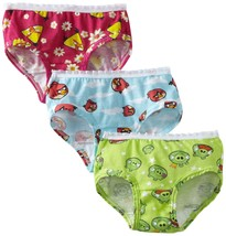 Fruit of the Loom Little Girls' Angry Birds Briefs - $6.99