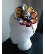 Handmade Crochet Yellow Primary Mix Headband - $5.00