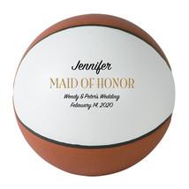 Maid of Honor Regulation Basketball Wedding Gift - Personalized Wedding ... - $59.95