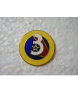 3rd AIR FORCE LAPEL PIN - HAT PIN STYLE #2 - $6.85