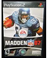 Madden NFL 2007 - PlayStation 2 - $2.58