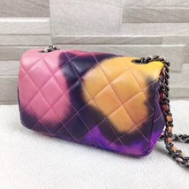 AUTHNTIC CHANEL LIMITED EDITION LAMBSKIN QUIILTED MINI FLOWER POWER FLAP BAG image 5