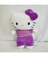 """Hello Kitty Fiesta Purple Plush 11"""" - $24.50"""