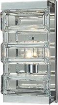 """ELK Lighting 11515/1 Vanity-Lighting-fixtures, 11 x 5 x 4"""", Chrome - $182.00"""