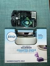 Febreze Wax Melts Warmer / Wax Burner / 110v-120v on/off switch  With 8 ... - $28.04