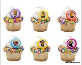 Despicable CupCake Cake Topper 12 18 24 Favors Decoration Birthday Minio... - $7.87+