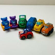"""Tonka 2"""" Wheel Pals Vehicles Lot Playskool Truck Lot Of 7 - $17.99"""
