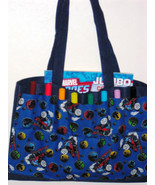 Thomas The Train Child's Tote / Art Bag / Carryall Bag / Car Bag / Schoo... - $25.00