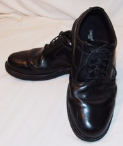 Deer Stags Mens Shoes Black 9 1/2 W 9.5 Wide Tie Lace Up Dress - $18.80