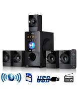 beFree Sound 5.1 Channel Surround Sound Bluetooth Speaker System in Black - $107.55