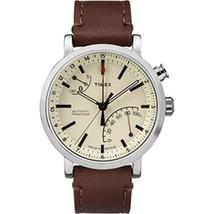 Timex Metropolitan+ Watch - Tan Dial/Brown Leather - $139.82