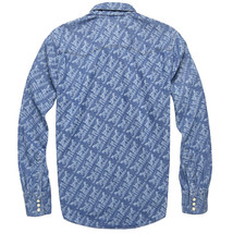 Levi's Men's Classic Casual Denim Printed Sawtooth Western Shirt image 2