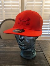 NWT Under Armour HeatGear Men's MD/LG Hat Red on Red -Mesh Hat!! $29.99 ... - $24.74
