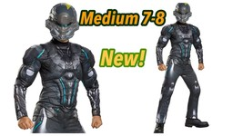 Spartan Locke Muscle Chest Boys Costume Size Medium 7-8 New! - $27.76