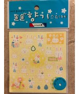 Vintage My Melody Oriental Bunny Stickers Made in Korea - $14.99