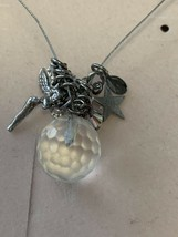 "Rare! Kirks Folly ""Fairy Wishing Light Necklace"" In Box*Papers*Actually Lights!! - $46.71"