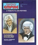 Fantasy Empire Magazine Collector's Edition #3 Doctor Who 1984 UNREAD VE... - $4.99