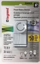 (New) Legrand Indoor Rotary Dimmer 450 Watt 3 Way Single Pole Residential White - $23.75
