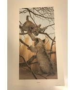 """Peter Skirka Lion Cubs Signed And Numbered 1144/1500 (28""""x16"""") - $92.57"""