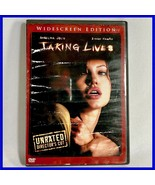 Used Taking Lives (DVD, 2004, Unrated Director's Cut) Angelina Jolie Eth... - $1.94
