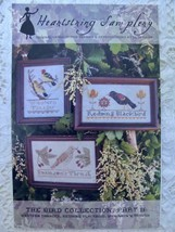 Heartstring Samplery Bird Collection Part ll Cross Stitch Pattern Thrush... - $9.99