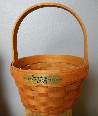 "Primary image for Vintage Longaberger Basket Discovery 5 x 8"" with all Paperwork"