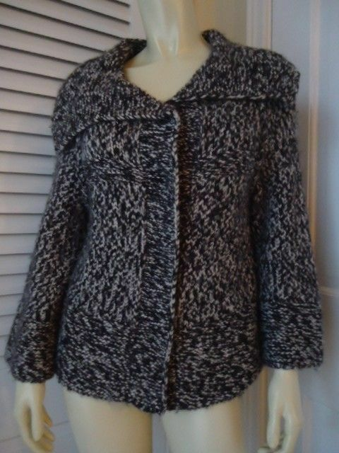 Primary image for ANN TAYLOR LOFT Bulky Wool Alpaca Knit Retro Cardigan Sweater S