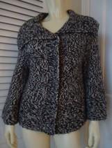 ANN TAYLOR LOFT Bulky Wool Alpaca Knit Retro Cardigan Sweater S - $46.73