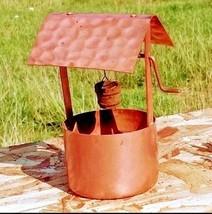 Copper Wishing Well AB 387 Vintage image 2