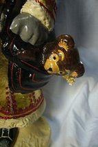 Vaillancourt Folk Art Gold European Father Christmas, signed by Judi! Last one! image 6